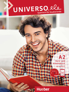 Universo.ele A2. Kursbuch + Arbeitsbuch + 1 Audio-CD