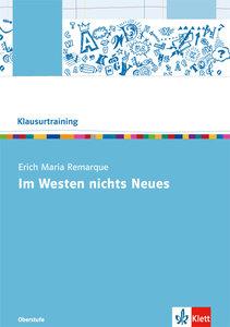 """Erich Maria Remarque """"Im Westen nichts Neues"""""""