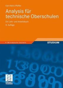 Analysis für technische Oberschulen