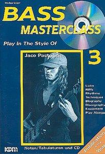 Bass Masterclass Band 03