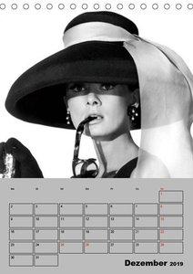 Hollywood-Diva. Audrey Hepburn (Tischkalender 2019 DIN A5 hoch)