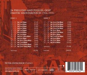24 Präludien & Fugen,op.87