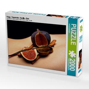 CALVENDO Puzzle Feige - Tamarinde - Vanille - Zimt 2000 Teile Le