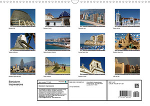 Benidorm Impressions (Wall Calendar 2020 DIN A3 Landscape)