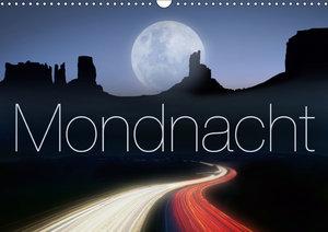 Mondnacht (Wandkalender 2019 DIN A3 quer)