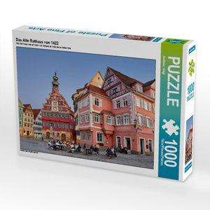 Das Alte Rathaus von 1422 1000 Teile Puzzle quer