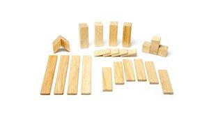 Magnetisches Holzset Natur, 24 Teile