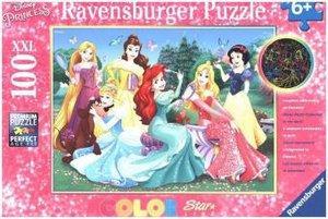 Leuchtende Disney Prinzessinnen (Kinderpuzzle)