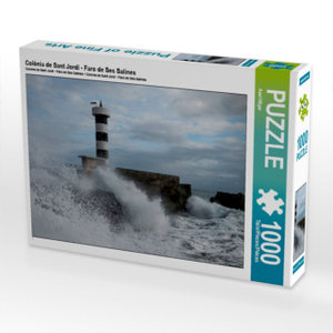 Colònia de Sant Jordi - Faro de Ses Salines 1000 Teile Puzzle qu