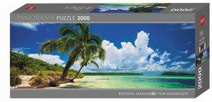 Paradise Palms Panorama Puzzle 2000 Teile