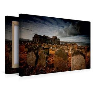 Premium Textil-Leinwand 45 cm x 30 cm quer Gothic Fantasy - Frie