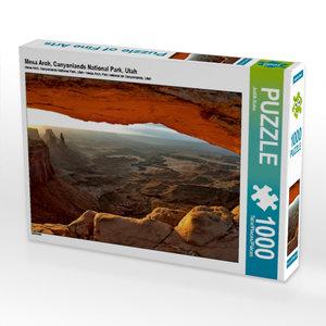 Mesa Arch, Canyonlands National Park, Utah 1000 Teile Puzzle que