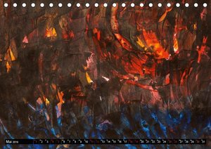 Informelle Farben (Tischkalender 2019 DIN A5 quer)