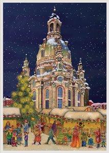 "Adventskalender \""Frauenkirche Dresden\"""