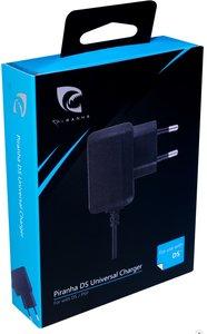 PIRANHA DS Universal Charger, Universal Netzteil mit Adapter