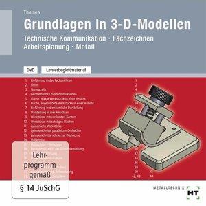 Lehrerbegleitmaterial Grundlagen in 3-D-Modellen, DVD-ROM