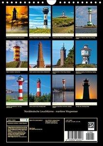 Norddeutsche Leuchttürme - maritime Wegweiser