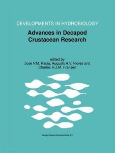 Advances in Decapod Crustacean Research