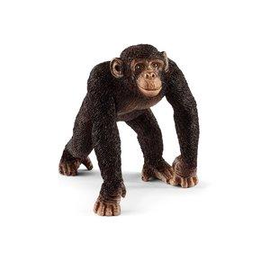 Schimpanse Männchen, Kunststoff-Figur
