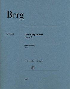 Streichquartett op. 3
