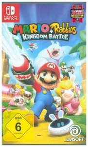 Mario & Rabbids Kingdom Battle, 1 Nintendo Switch-Spiel (Definit