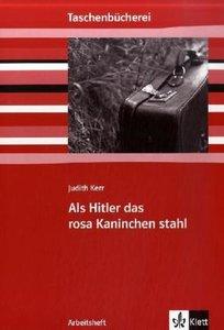 Als Hitler das rosa Kaninchen stahl. Arbeitsheft