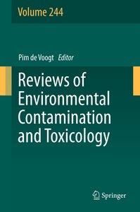 Reviews of Environmental Contamination and Toxicology Volume 244