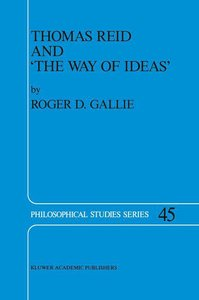 Thomas Reid and 'The Way of Ideas'