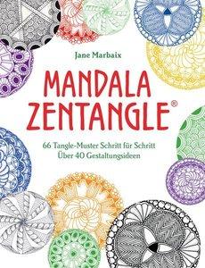 Malbuch für Erwachsene: Mandala Zentangle