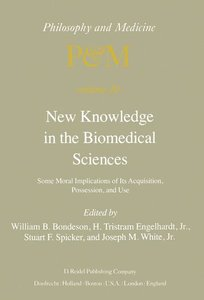 New Knowledge in the Biomedical Sciences