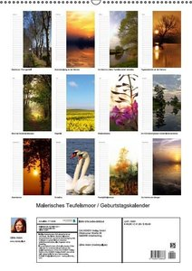 Malerisches Teufelsmoor (Wandkalender immerwährend DIN A2 hoch)