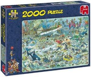 Jumbo Spiele 17080 - Jan van Haasteren: Unterwasserwelt, 2000 Te