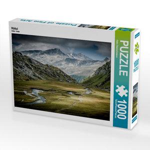 CALVENDO Puzzle Röttal 1000 Teile Lege-Größe 64 x 48 cm Foto-Puz
