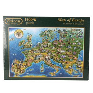 Falcon - Map of Europe - 1500 Teile