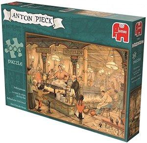 Anton Pieck - Poffertjes Kraam. Puzzle 1000 Teile