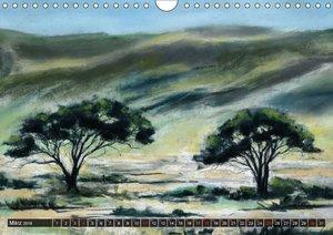 Afrika in Pastellgemälden