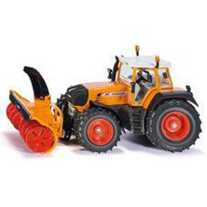 SIKU Traktor mit Schneefräse