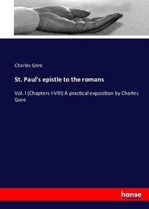 St. Paul\'s Epistle to the Romans