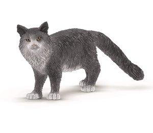 Schleich Maine-Coon-Katze, Kunststoff-Figur