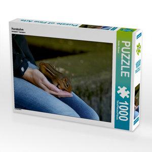Handzahm 1000 Teile Puzzle quer