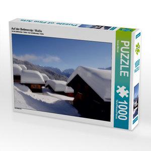 Auf der Bettmeralp / Wallis 1000 Teile Puzzle quer