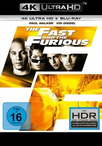 The Fast and the Furious 4K, 2 UHD-Blu-ray