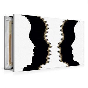 Premium Textil-Leinwand 75 cm x 50 cm quer Kippbild