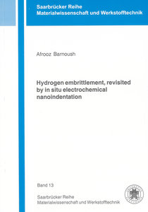 Hydrogen embrittlement, revisited by in situ electrochemical nan
