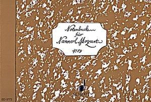 Notenbuch für Nannerl Mozart 1759, Klavier