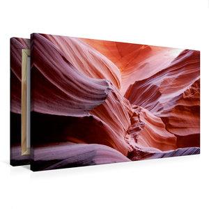 Premium Textil-Leinwand 75 cm x 50 cm quer Antelope Canyon, Utah