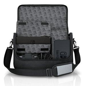 PowerA Everywhere Messenger Bag, Tasche für Nintendo Switch, sch