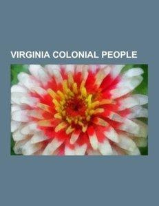 Virginia colonial people