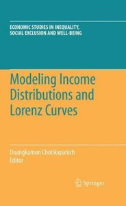 Modeling Income Distributions and Lorenz Curves