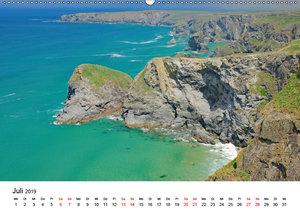 Cornwall und Wales (Wandkalender 2019 DIN A2 quer)